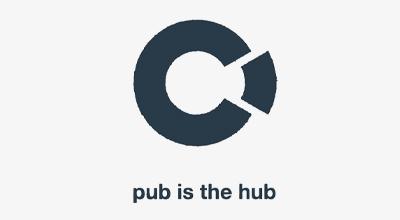 Pub is the Hub Logo
